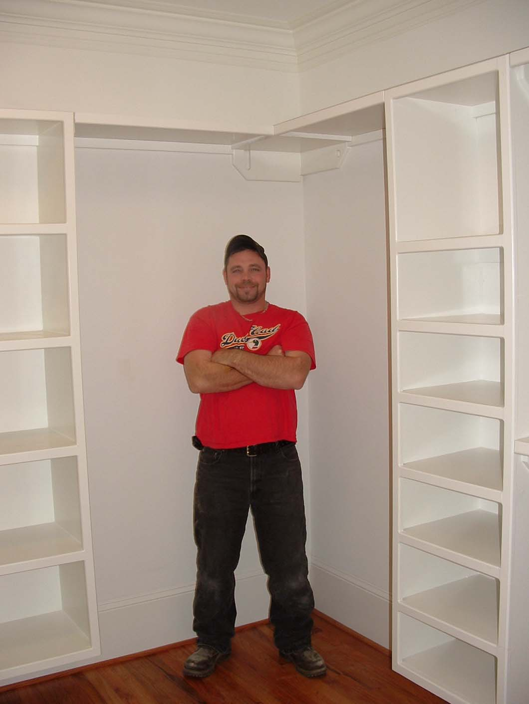 Custom Shelf Building Installation Columbia Lexington Sc Clark Home Remodeling Llc